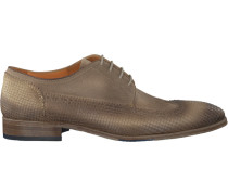Taupe Omoda Business Schuhe 8216