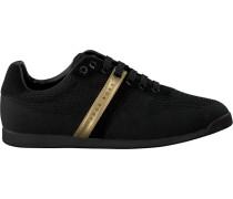 Schwarze Hugo Boss Sneaker Maze Lowp Knit2