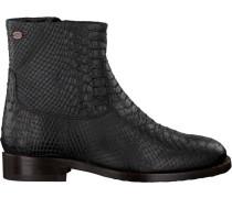 Schwarze Stiefeletten 181010009