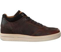 Cognacfarbene Brunotti Sneaker Ponzo MID