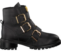 Schwarze PS Poelman Biker Boots 5461