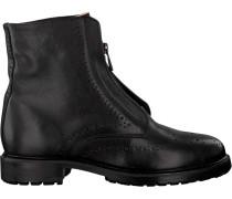 Schwarze Biker Boots 182010028