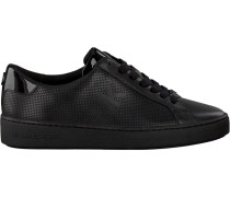 Schwarze Michael Kors Sneaker Irving Lace UP