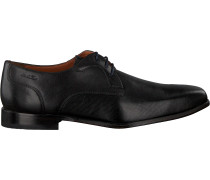 Schwarze Van Lier Business Schuhe 1911405
