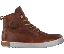 Cognacfarbene Blackstone Ankle Boots Gm06