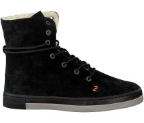 Schwarze HUB Sneaker Vermont