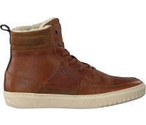 Cognacfarbene Bjorn Borg Sneaker Collin High