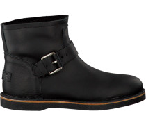 Schwarze Shabbies Ankle Boots 181020086