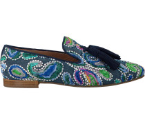 Blaue Pedro Miralles Loafer 18037