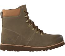 Taupe Ugg Ankle Boots Halfdan