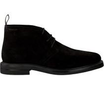 Schwarze Gant Business Schuhe Fargo