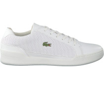 Weiße Lacoste Sneaker Challenge
