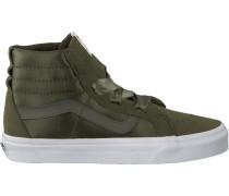 Grüne Vans Sneaker SK8 HI ALT Lace
