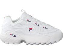 Weiße Fila Sneaker D-Formation WMN