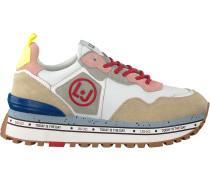 Beige Liu Jo Sneaker Low Maxi Alexa