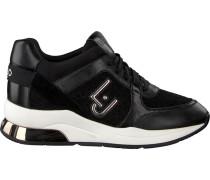 Schwarze Liu Jo Sneaker Karlie 05