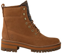 Braune Timberland Ankle Boots Courmayeur Valley Yb