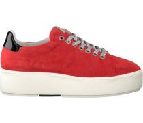 Rote Nubikk Sneaker Elise Lace Perfo
