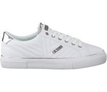 Weiße Guess Sneaker Groovie