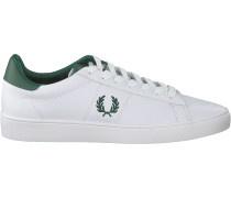 Weiße Fred Perry Sneaker Low B8250