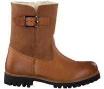 Cognacfarbene Blackstone Biker Boots Ol05