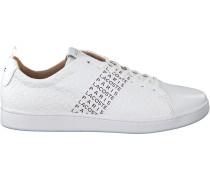 Weiße Lacoste Sneaker Carnaby Evo 319 12