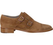 Cognacfarbene Pertini Slipper 191W15216C