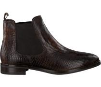 Braune Omoda Chelsea Boots 52B003