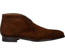Cognacfarbene Magnanni Business Schuhe 20105