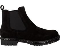 Schwarze Omoda Chelsea Boots 74B-010