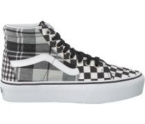 Schwarze Vans Sneaker Ua Sk8-hi Platform 2.0