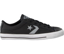 Schwarze Converse Sneaker Star Player OX