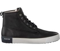 Schwarze Blackstone Sneaker Qm80