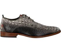 Graue Rehab Business Schuhe Greg Croco