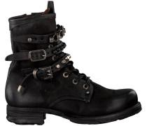 Schwarze Biker Boots 520278 201 6002 Sole Saint 14