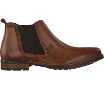 Cognacfarbene Omoda Chelsea Boots 730