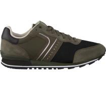 Grüne Hugo Boss Sneaker Parkour Runn Nymx