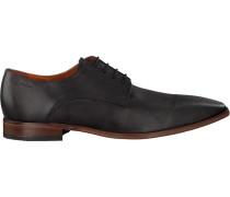 Graue Van Lier Business Schuhe 6030