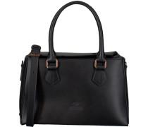 Schwarze Handtasche 212010016