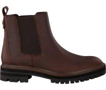 Cognacfarbene Chelsea Boots London Square Chelsea