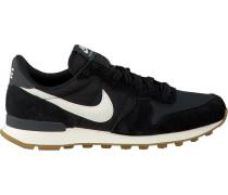Schwarze Nike Sneaker Internationalist Wmns
