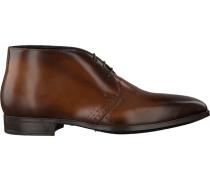 Cognacfarbene Giorgio Business Schuhe He50228