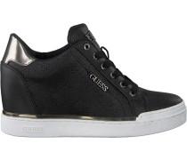 Schwarze Guess Sneaker Flowurs Stivaletto