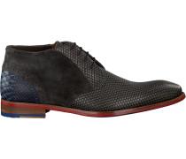 Braune Floris Van Bommel Business Schuhe 20104