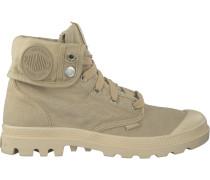 Beige Palladium Ankle Boots Baggy D