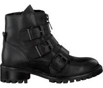 Schwarze Omoda Biker Boots R5461