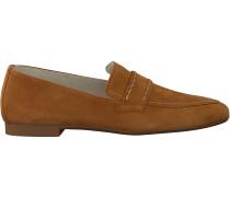 Camelfarbene Paul Green Loafer 2504-006