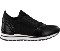 Schwarze Michael Kors Sneaker Billie Knit Trainer