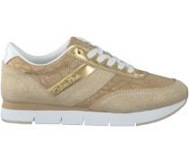 Goldene Calvin Klein Sneaker TEA