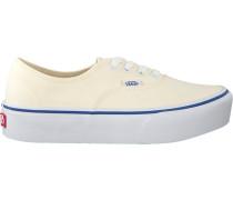 Weiße Vans Sneaker Authentic Platform WMN